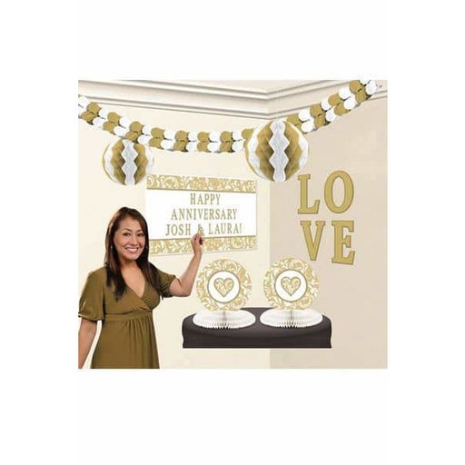 Gold Party Decoration Kits