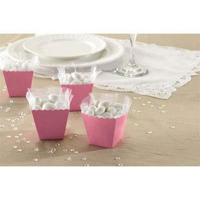 Light Pink Favour Scallop Boxes 100pk
