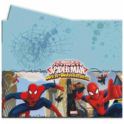 Ultimate Spiderman Plastic Tablecover 1pk