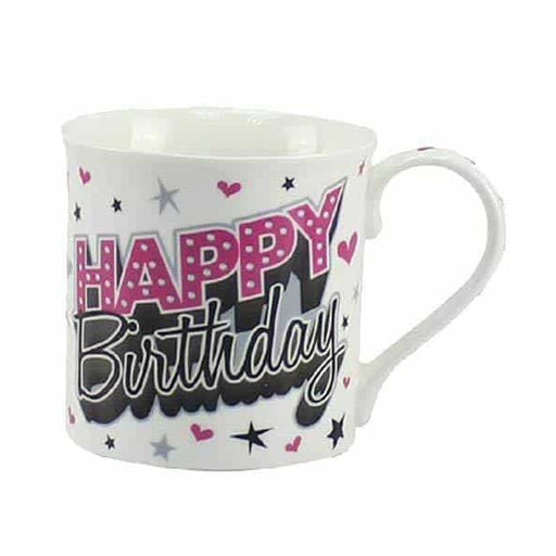 Happy Birthday Fine China Mugs