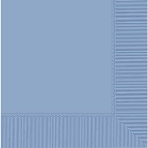 Pastel Blue 2ply Dinner Napkins 20pk - mypartymonsterstore