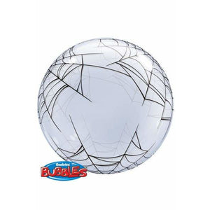Spider Web Deco Bubble Balloon - mypartymonsterstore