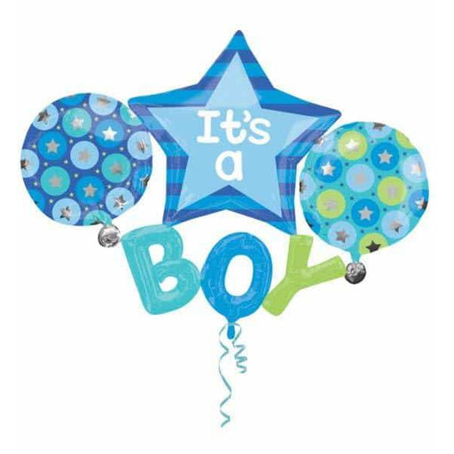 Its a BOY Multi Foil Balloons