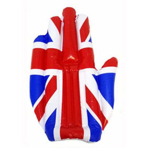 Inflatable Union Jack Hand