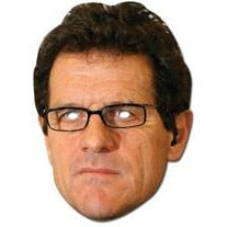 Fabio Capello Celebrity Face Mask - mypartymonsterstore