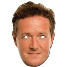 Piers Morgan Celebrity Face Mask - mypartymonsterstore