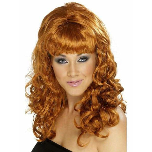 Ladies Auburn Beehive Beauty Wig