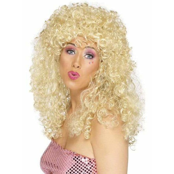 Ladies Blonde Boogie Babe Wig