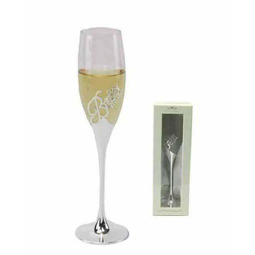 Silver Plated Bridesmaid Champagne Flute