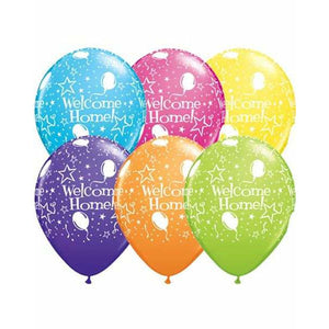 Welcome Home Latex Balloons 6ct - mypartymonsterstore