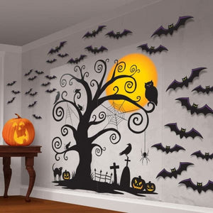 Family Friendly Wall Scene Setter Decoration Kit