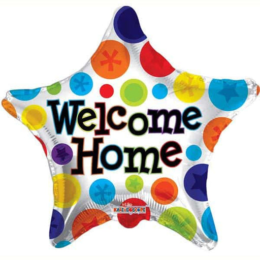 Welcome Home Star Foil Balloon