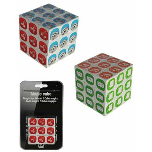 Phone Icons Magic Cube