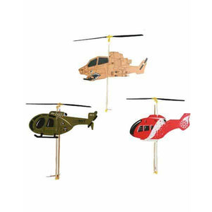 Plastic Helicopter x1 - mypartymonsterstore