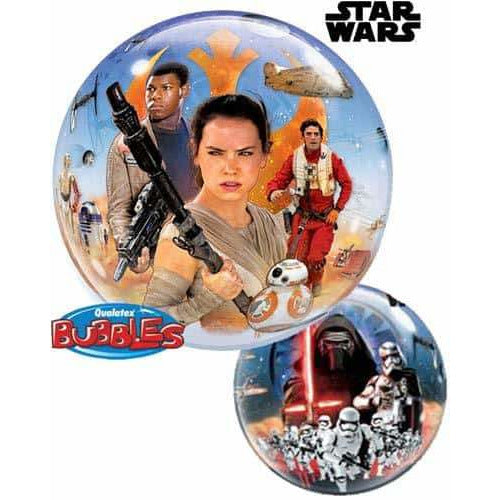 Star Wars The Force Awakens Single Bubble Balloon
