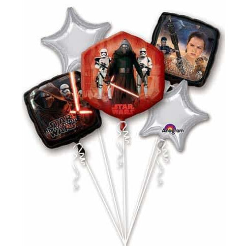 Star Wars The Force Awakens Balloon Bouqet