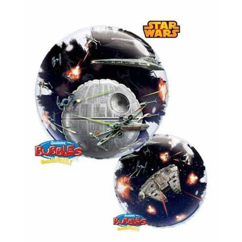 Star Wars Death Star Double Bubble