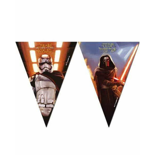 Star Wars The Force Awakens Flag Banner