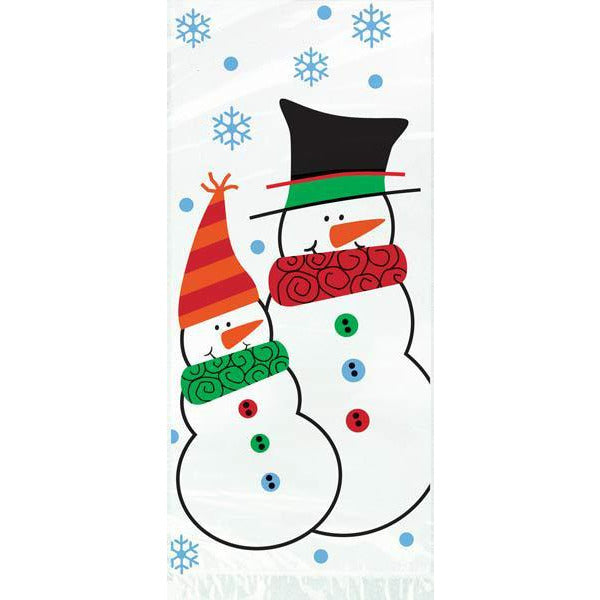 Snowman Buddies Cello Bags x20