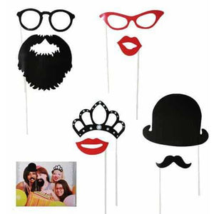 Fun Photo Props 17pk - mypartymonsterstore