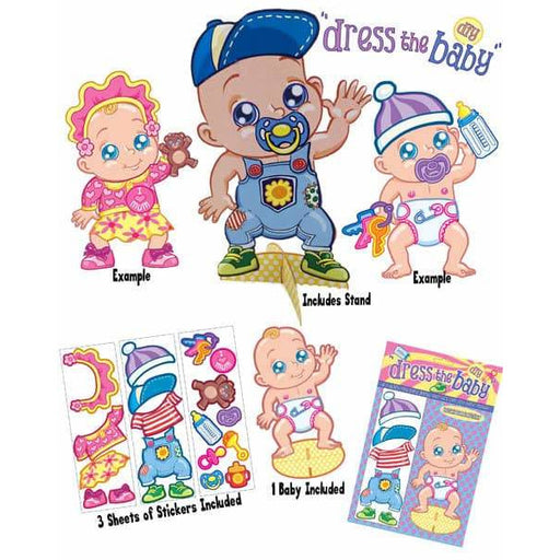 Dress The Baby Game 1pk