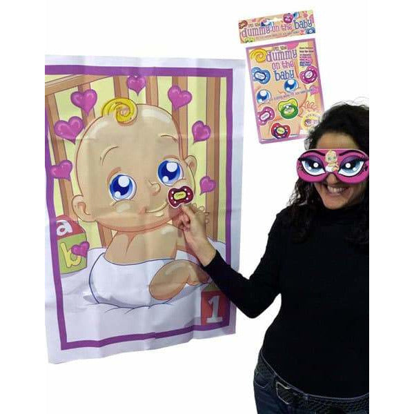 Pin The Dummy On The Baby