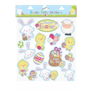 Easter Puffy Stickers 15pcs