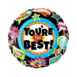 You're The Best Accolades Balloons - mypartymonsterstore