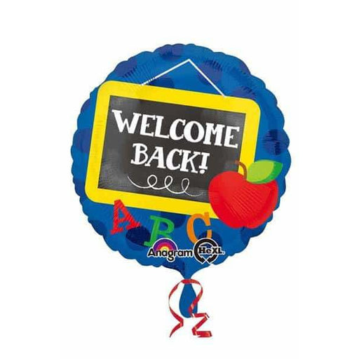 Welcome Back Chalkboard Foil Balloon