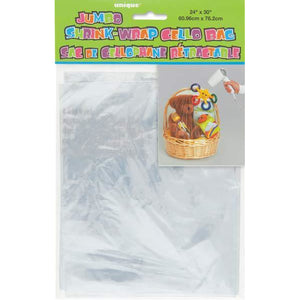 Jumbo Shrink Wrap Cello Bag