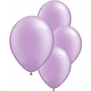 Pearl Lavender Latex Balloons 6ct - mypartymonsterstore