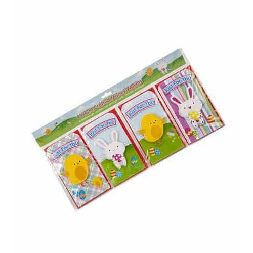 Easter Themed Money Wallets 4pk