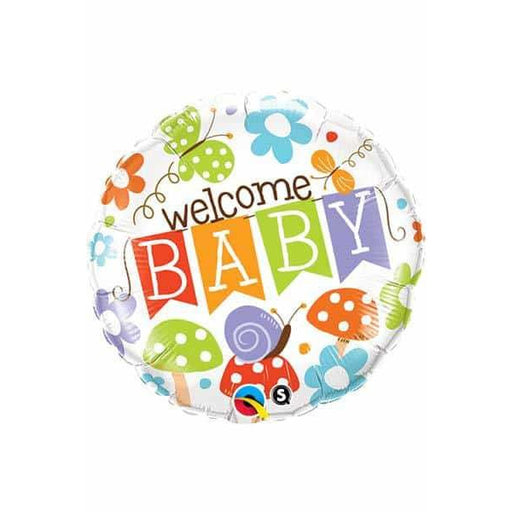 Welcome Baby Banner Foil Balloon