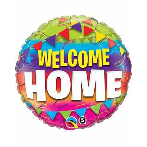 Welcome New Home Balloons