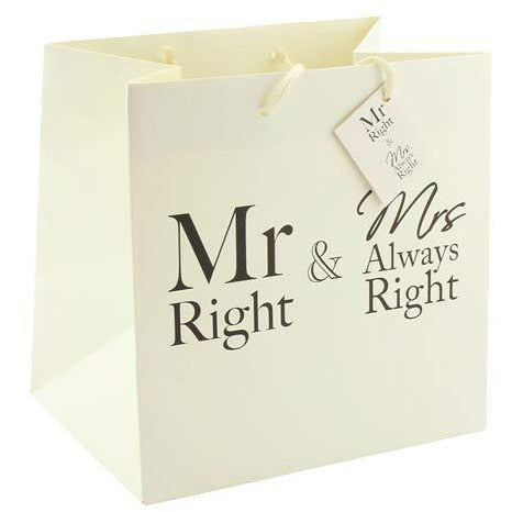 Mr And Mrs Always Right Medium Gift Bags