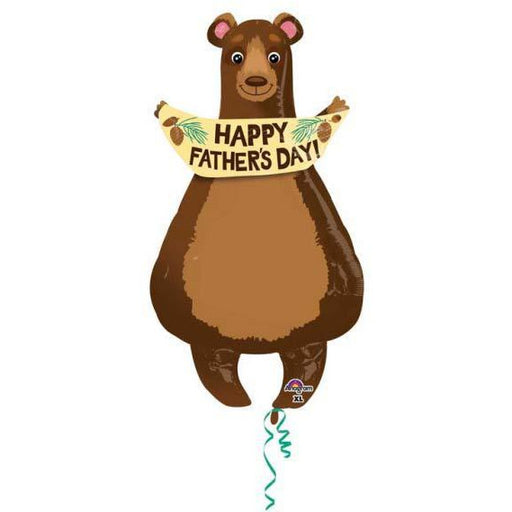 Happy Fathers Day Bear Shape Balloons