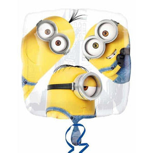 Despicable Me Minion Group Foil Balloons - mypartymonsterstore
