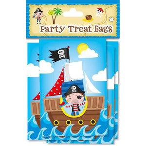Pirate Party Treat Bags 10pk - mypartymonsterstore