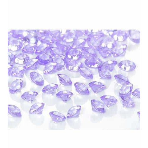 Lilac Tiny Table Diamantes