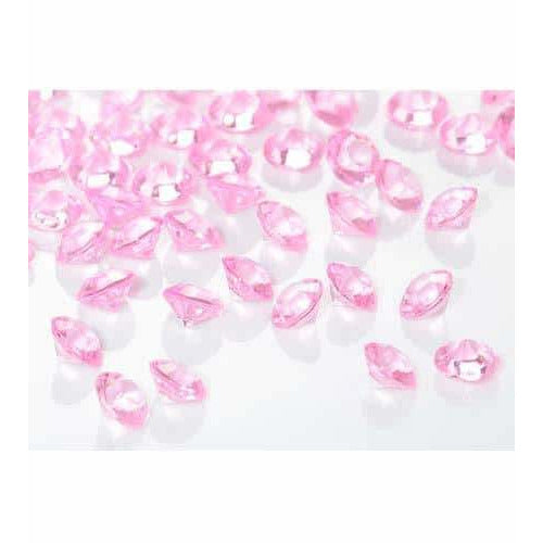 Pink Tiny Table Diamantes