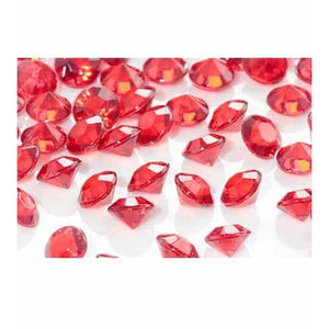 Red Tiny Table Diamantes