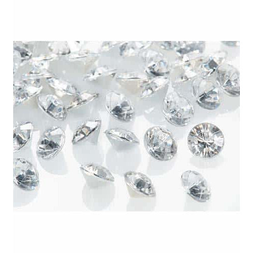 Silver Tiny Table Diamantes
