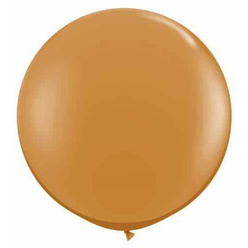 Mocha Brown Giant Latex Balloons x2