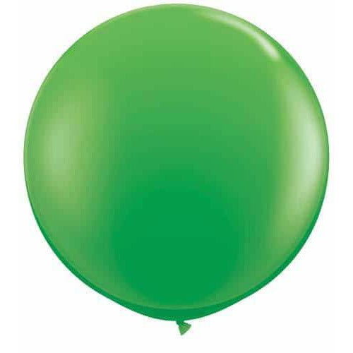 Spring Green Giant Latex Balloons x2