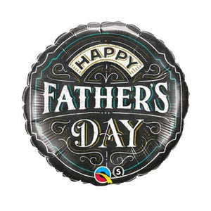 Fathers Day Chalkboard Foil Balloons