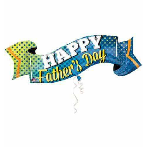 Fathers Day Banner Supershape Balloons