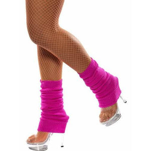Hot Pink Leg Warmers - mypartymonsterstore