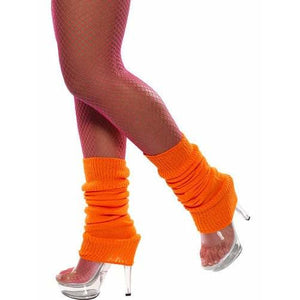 Neon Orange Leg Warmers - mypartymonsterstore