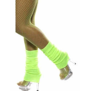 Neon Green Leg Warmers - mypartymonsterstore