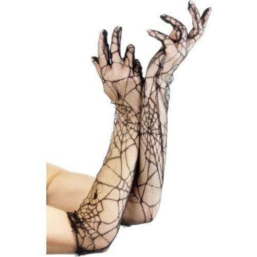 Spiderweb Lace Gloves